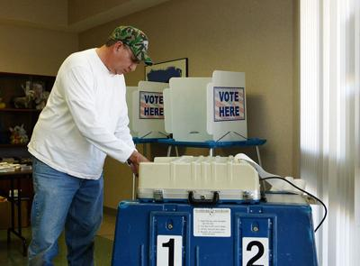 Voters have options for casting ballots