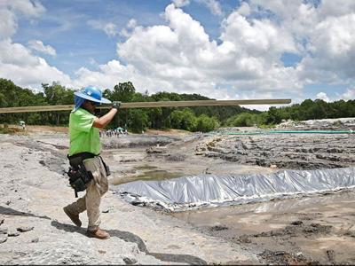 Officials tour 'world-class' whitewater park construction site