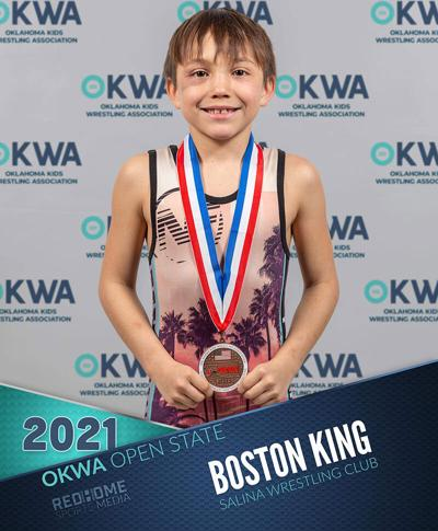 King places 5th at 2020-21 state wrestling tournament