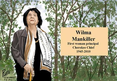 Mankiller remains an inspiration to many Cherokees