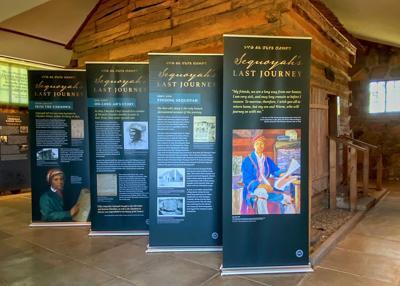 Sequoyah's Last Journey exhibit opens at namesake museum