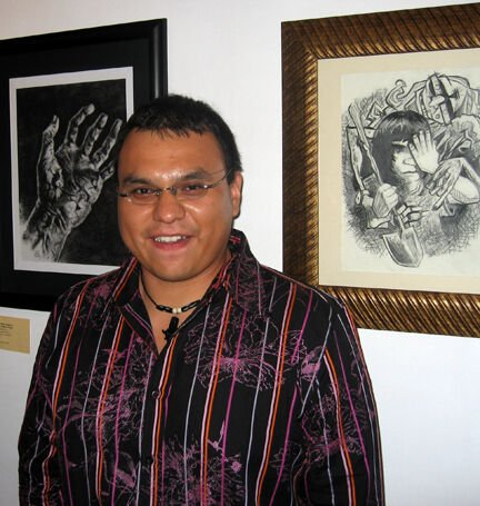Boney's artistic interests include traditional, language, tech