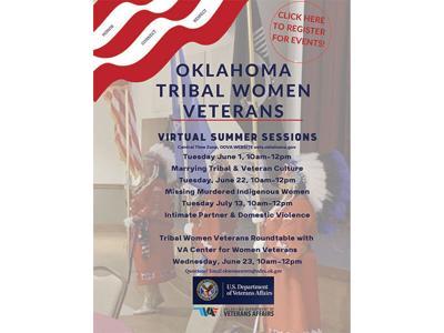Veterans Affairs to host Virtual Tribal Women Veteran series