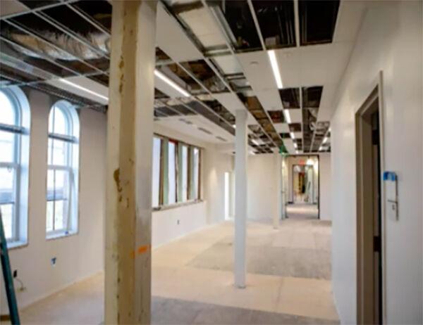 Cherokee Nation leaders get peek at Seminary Hall renovations