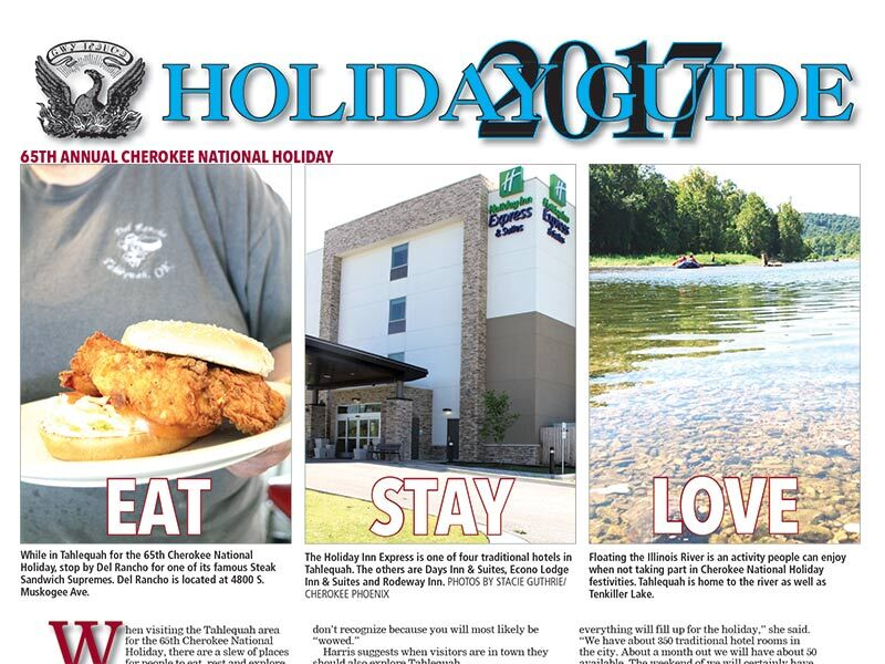 August 2017 issue of the Cherokee Phoenix and Holiday Guide now available online