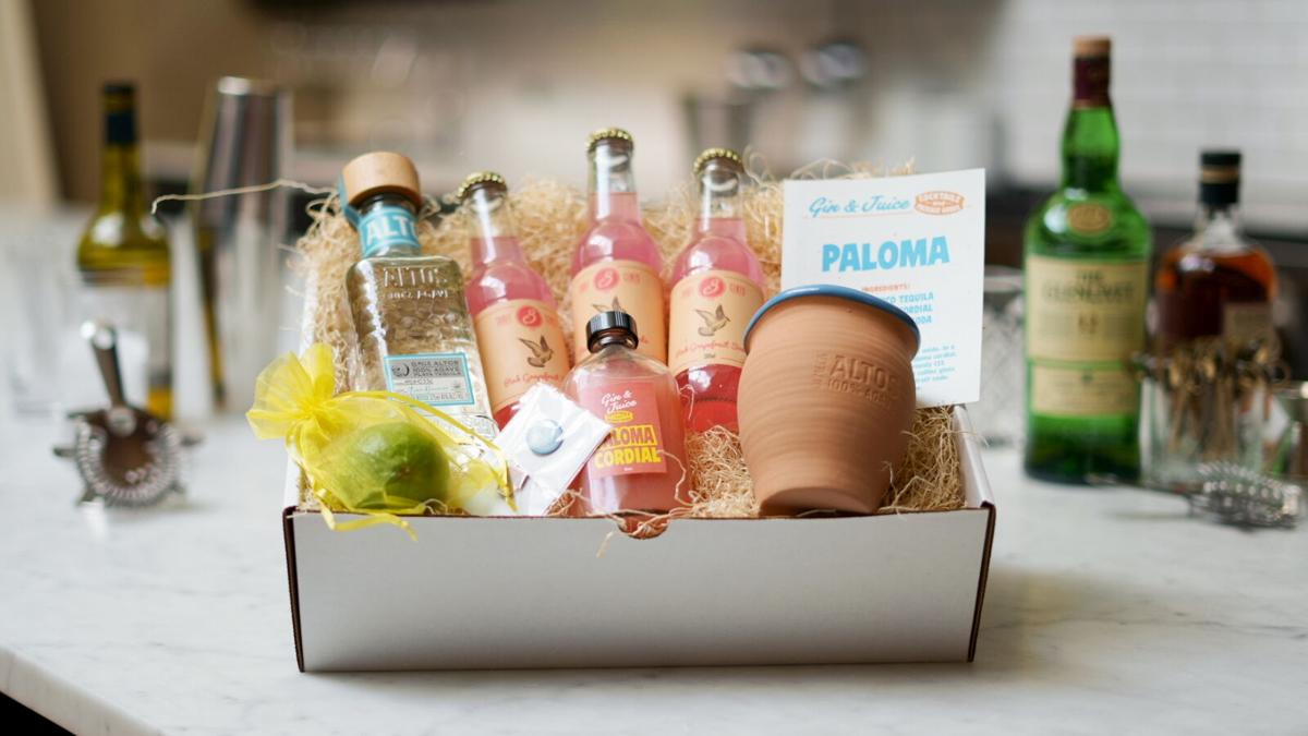 Gin and Juice cocktail kit