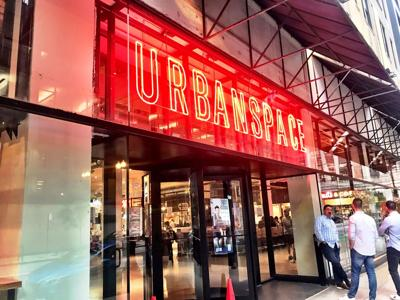 Urbanspace, an exciting new food hall, opens today, Sept. 22, in the Loop, 15 W. Washington.