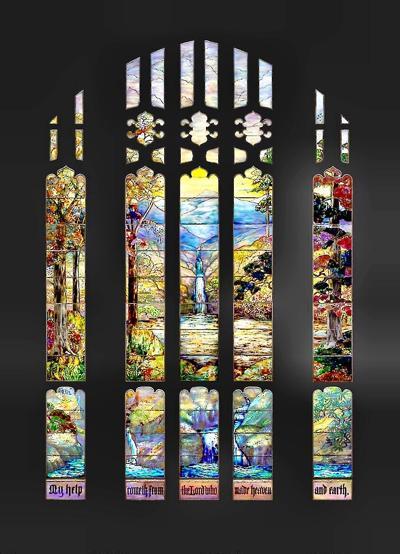 The Art Institute of Chicago acquires Tiffany Studio's Hartwell Memorial Window.