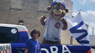 Cubs Charities graduation parade