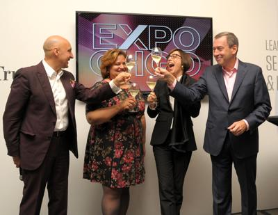EXPO Chicago founder Tony Karman (shown L) to debut new art fair at Navy Pier in the fall.