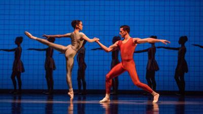Joffrey Ballet's Jeraldine Mendoza and Miguel Angel Blanco