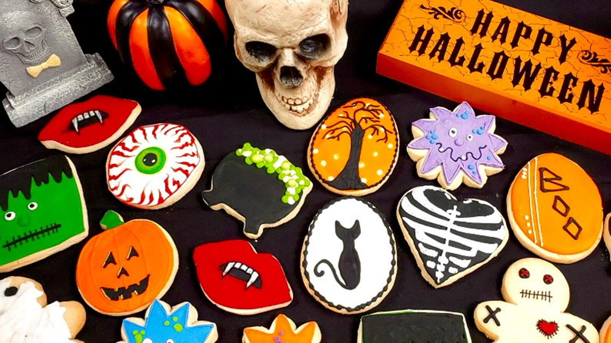 Halloween cookies from The Goddess and Grocer