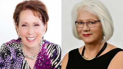 Gail Zelitzky and Catherine Marienau