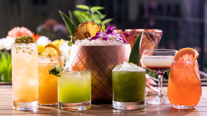 Streeterville Social cocktails
