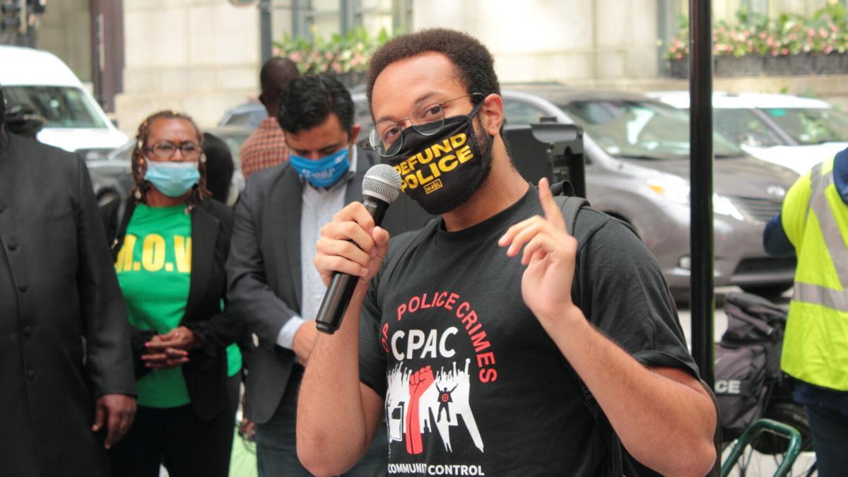 Occupy city hall speaker