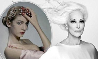 Carmen Dell' Orefice, the world's oldest working supermodel, turns 90 years young.