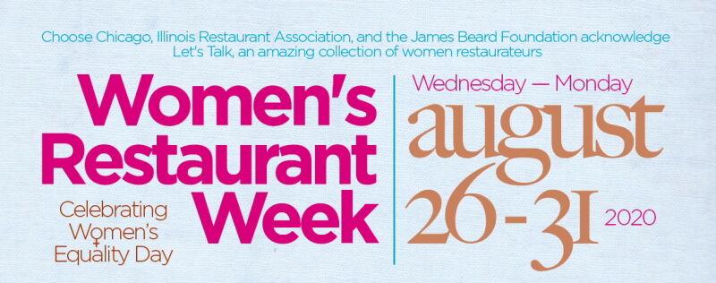 Women's Restaurant Week header