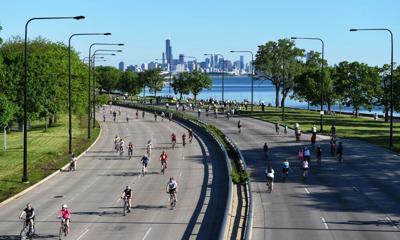 """Bike the Drive"" returns along city's lakefront."