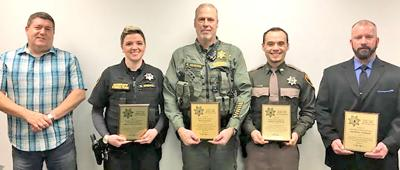 Law officers honored