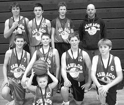 Ilwaco 8th graders win first place in basketball tourney