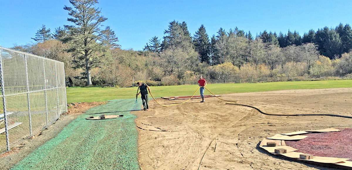 Tinker Field work