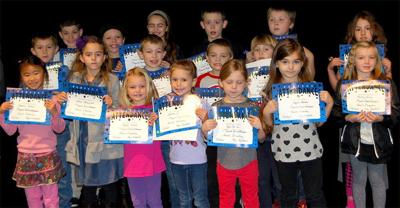 Naselle recognizes students for perfect attendance