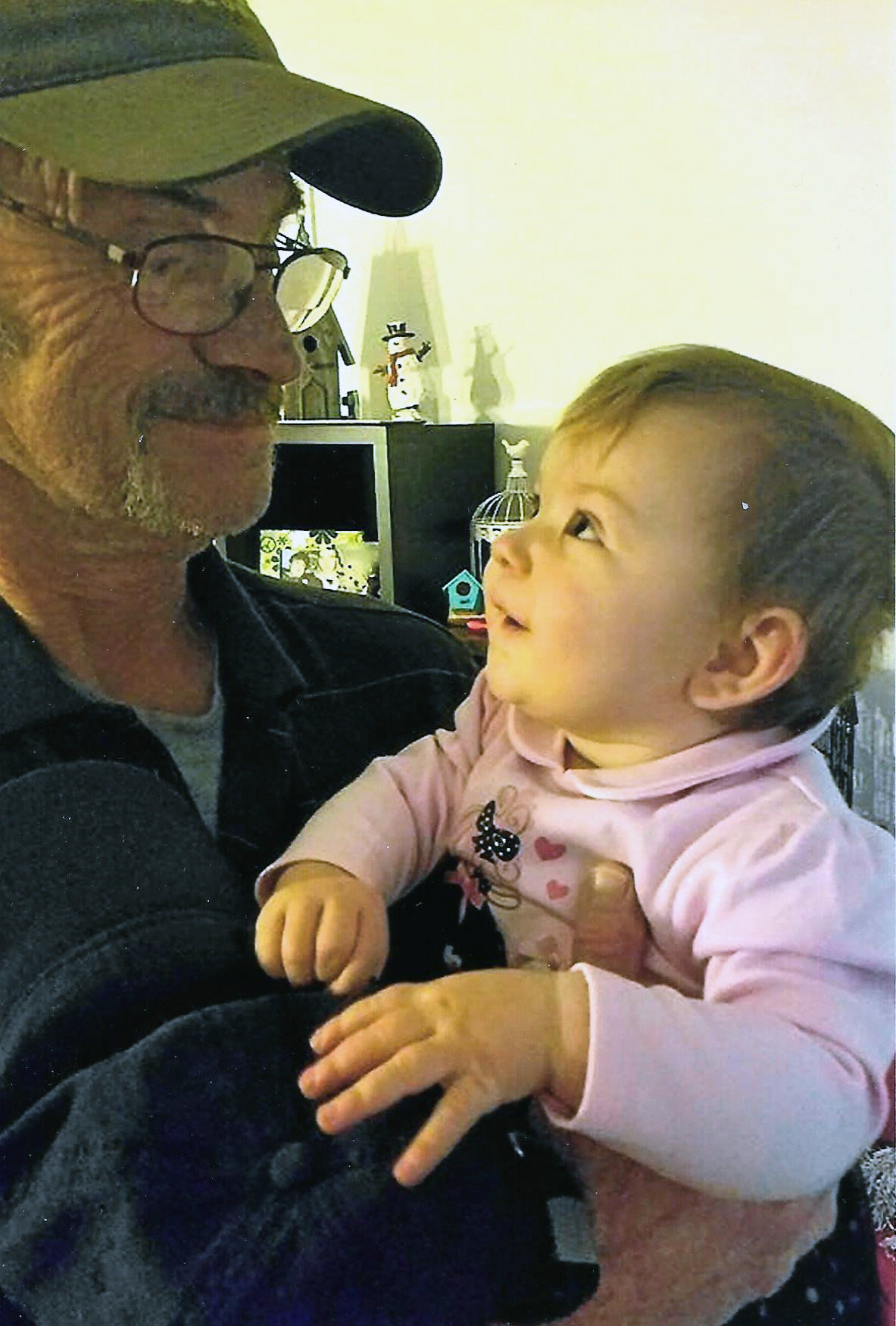 OUR GREATS AND OUR GRANDS Great-Grandpa Dan, a fifth-generation Gove!