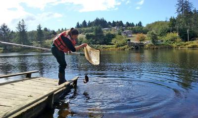 Planting trout