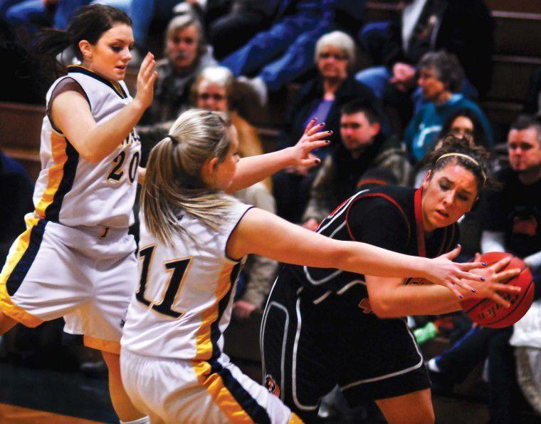 Lady Rockets orbit IHS, tie for Trico lead