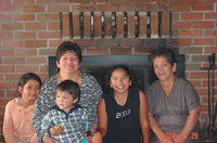Family in any language: Maria Guadalupe, Maria Lourdes and Angela: Part II