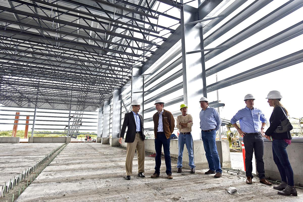 Seafood giant finished new facility across the river