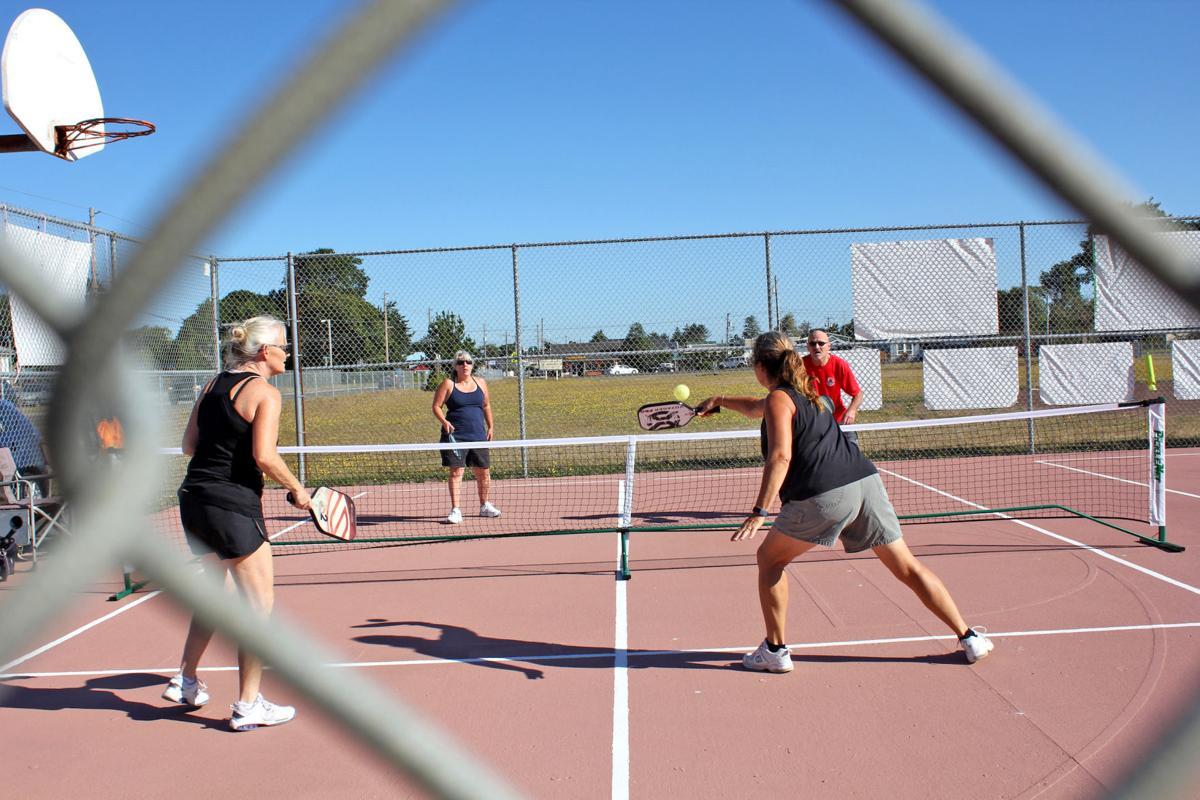 Pickleball outdoor sport