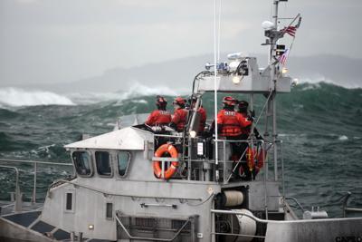 Coast Guard motor lifeboat