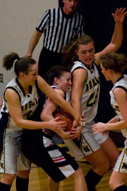 Naselle girls advance to second round of district playoffs