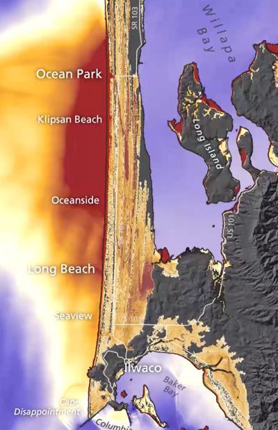 South peninsula simulation