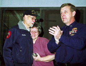 Ralph Gilbert honored as outstanding Coast Guard helper