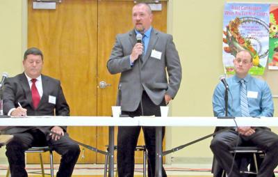 Prosecutor, sheriff candidates face off