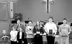 Ocean Park Community Church honors Awana club members