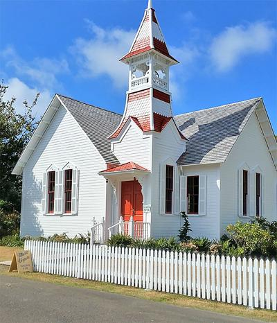 Oysterville Church restored