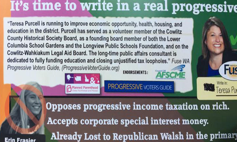 Democrats: Misleading mailer attempting to sabotage Frasier in 19th District race