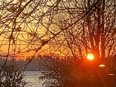 Nahcotta sunrise