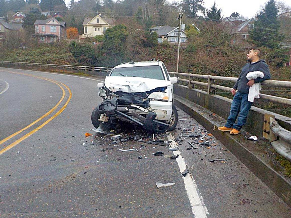 Astoria Bridge wreck