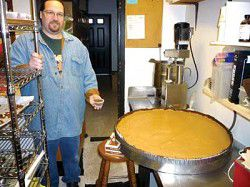 Candy Man makes gigantic peanut butter cup for Loyalty Days