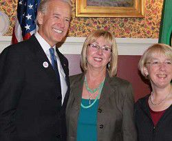 Political News: Pacific County EDC director meets with Biden and Murray