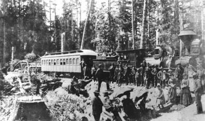 Ilwaco Railway 1889