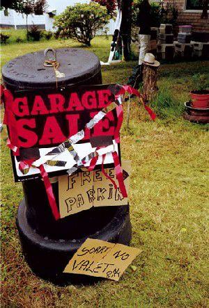 Big garage sale weekend brings treasures, perils