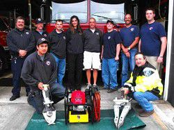 District 1 Firefighter Association donates new rescue equipment