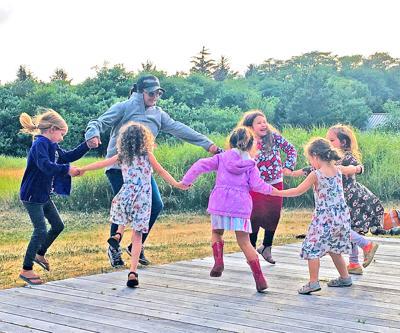 Dancing at Cape D