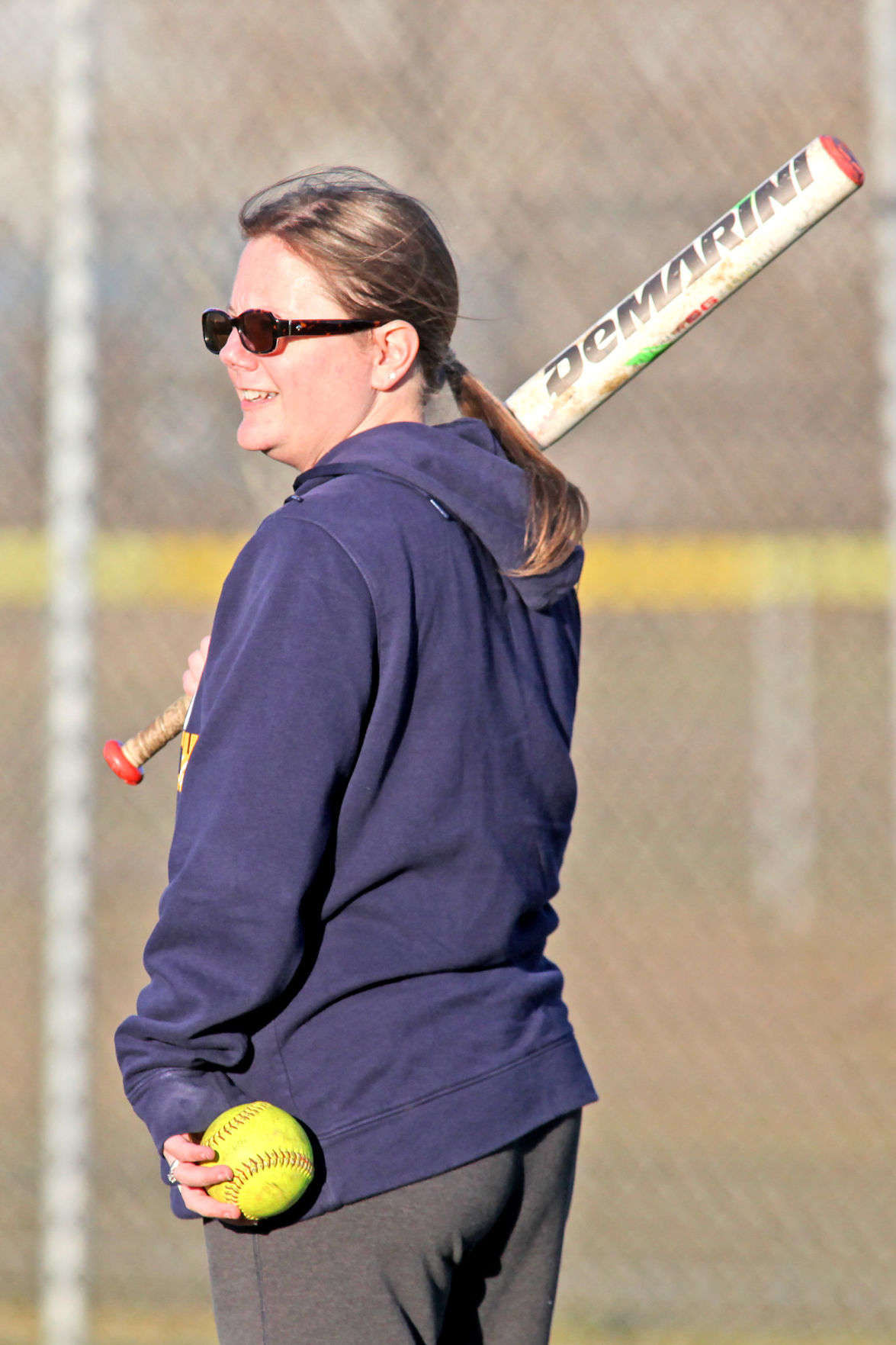 New IHS softball coach Barbara Patana