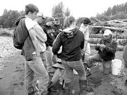 NHS kids thrive in outdoor classroom